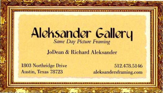 Aleksander Gallery, custom framing, framing.